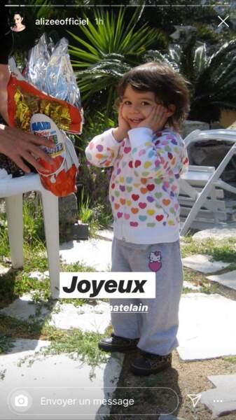 Alizée a donné naissance à sa fille aînée le 28 avril 2005.