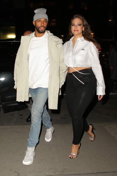 Ashley Graham et Justin Ervin