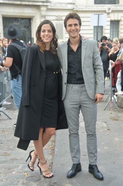 Anouchka Delon et Julien Dereims