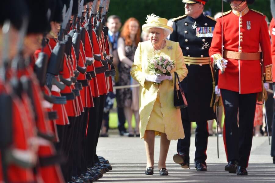 La reine Elisabeth II à Edimbourg, le 28 juin 2019
