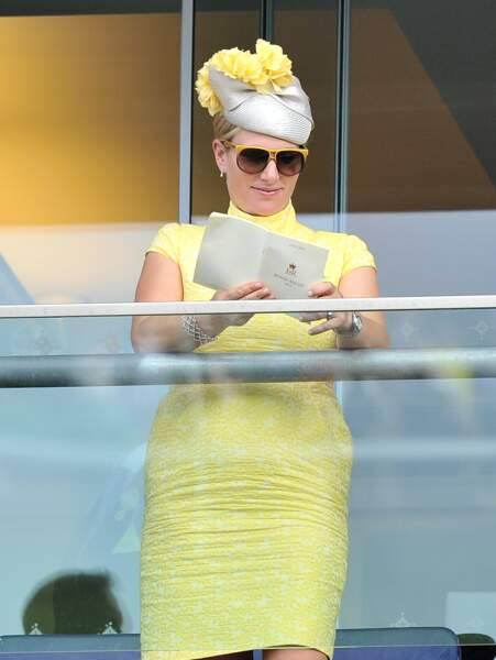 Zara Phillips lors du Royal Ascot 2015
