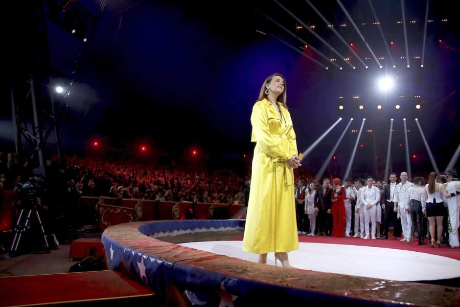 Pauline Ducruet lors du festival du cirque de Monte-Carlo, le 21 janvier 2020