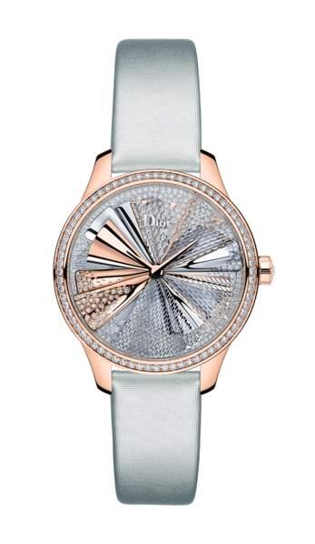 """Modèle """"Dior Grand Soir Plissé Précieux"""", collection """"Dior Grand Soir"""", prix sur demande, Dior Horlogerie"""