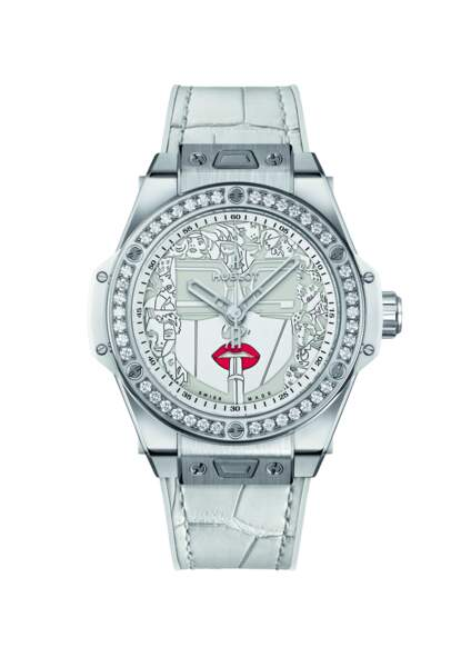 """Steel White, collection """"Big Bang One Click 39MM Marc Ferrero"""", 18 000€, Hublot"""