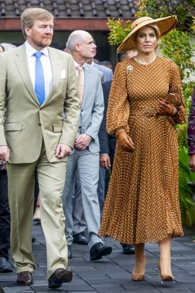 Willem-Alexander et Maxima des Pays-Bas en Indonésie, le 11 mars 2020