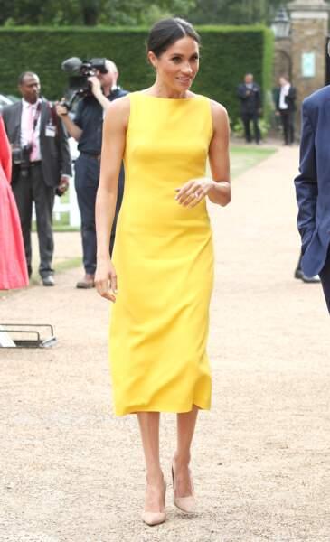 Meghan Markle à Londres, le 5 juillet 2018
