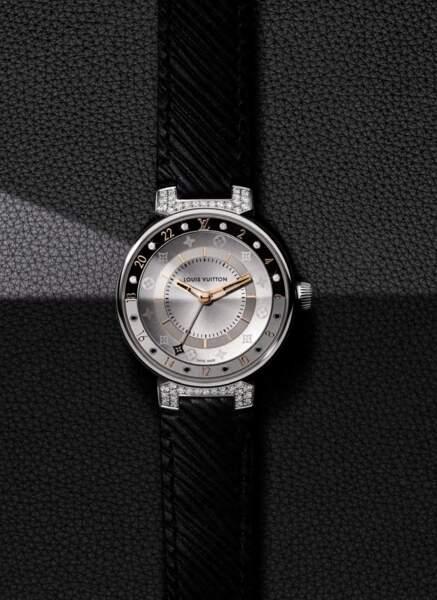 Tambour Moon Dual Time, prix sur demande, Louis Vuitton Horlogerie
