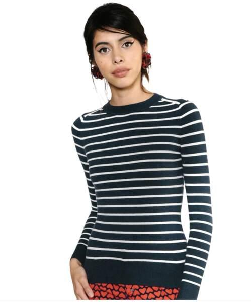 La marinière de Kate middleton n'est plus en vente mais ce modèle s'en approche.