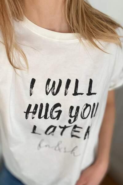 """T-shirt """"Hope"""", 35€, disponible sur le site ba-sh.com"""