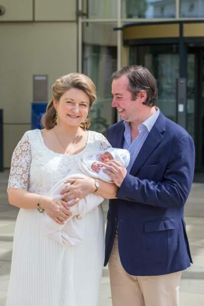 Guillaume et Stéphanie de Luxembourg sont devenus les heureux parents d'un petit garçon, le 10 mai dernier.