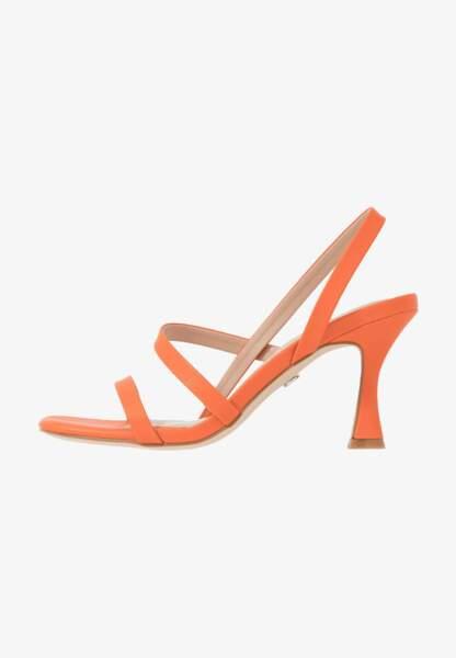 Sandales à talons pyramides, 49,95€, TataItalia surZalando.fr