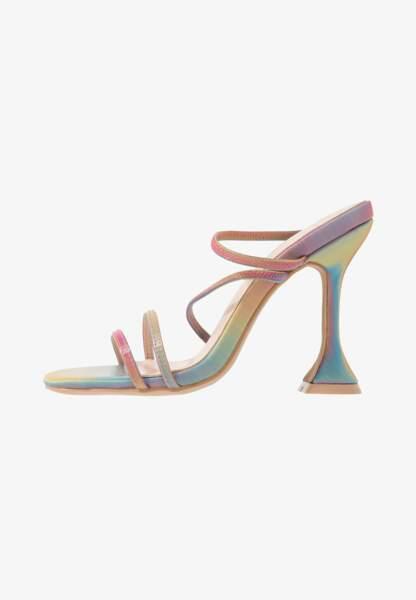 Sandales à talons pyramides, 37,95€, BEBO sur Zalando.fr