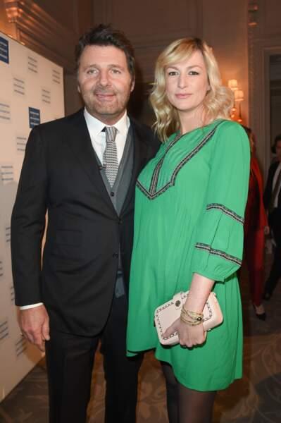 Philippe Lellouche est papa d'une petite fille avec sa compagne Vanessa Boisjean