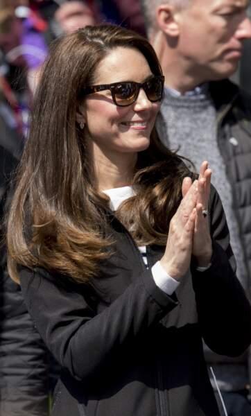les Ray-Ban de Kate Middleton, le 23 avril 2017.