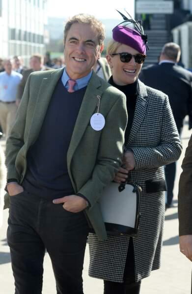 Zara Tindall porte le modèle de lunettes de soleil Leonard d'Ilesteva.