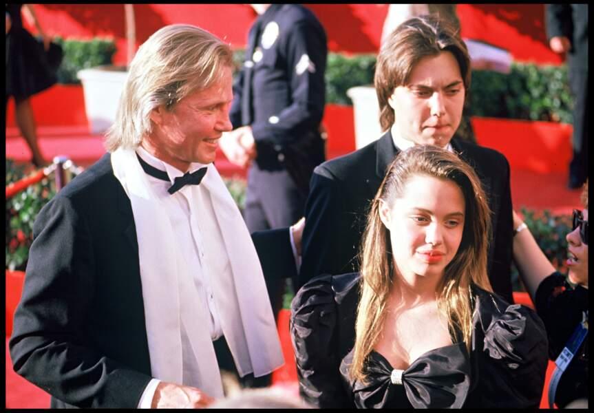 Angelina Jolie en 1988.