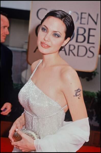 Angelina Jolie en 1998.