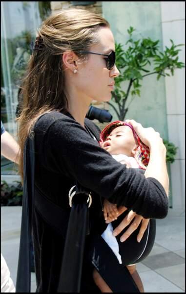 Angelina Jolie en 2005.