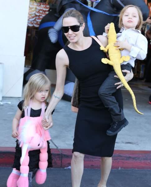 Angelina Jolie en 2012.