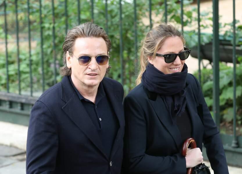 Benoit Magimel et sa femme Margot