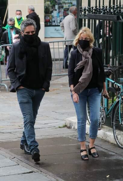 Emmanuelle Béart et son compagnon Frédéric Chaudier