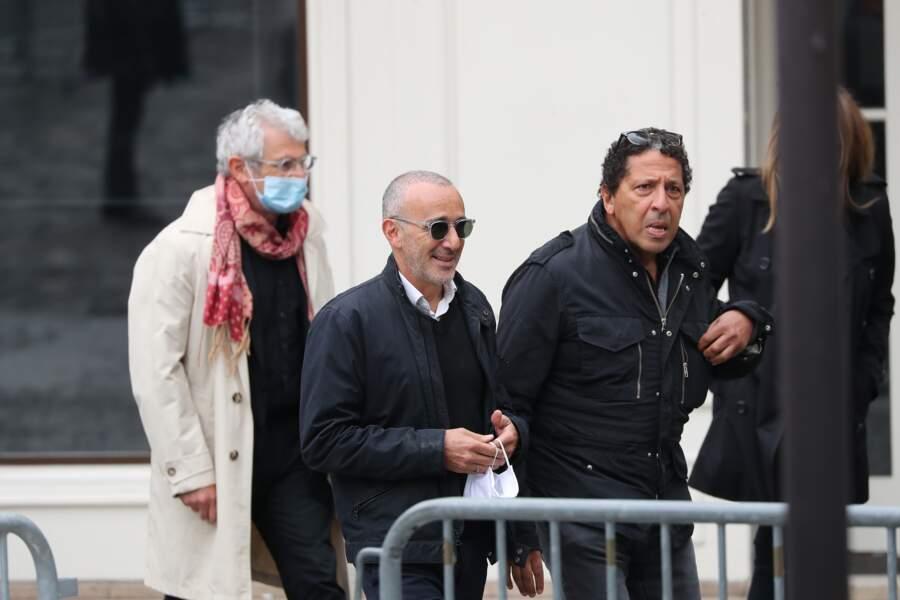 Michel Boujenah, Elie Semoun et Smaïn présents pour rendre hommage à Guy Bedos