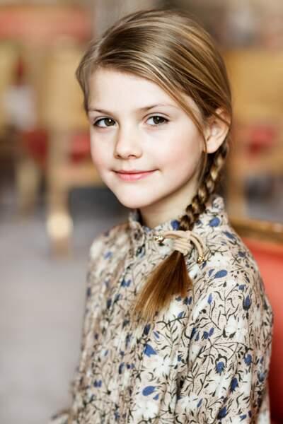 La princesse Estelle, fille aînée de Victoria de Suède, a fêté ses 8 ans le 23 février 2020