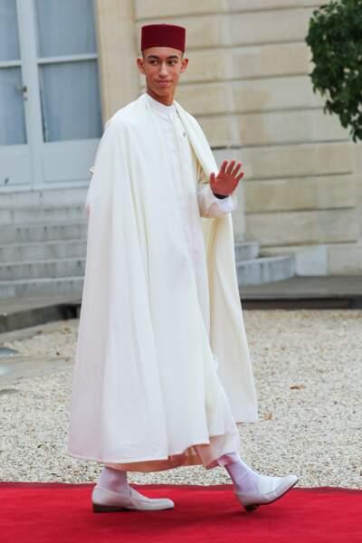 Le prince Moulay El Hassan, 17 ans, fils aîné de Mohammed VI du Maroc