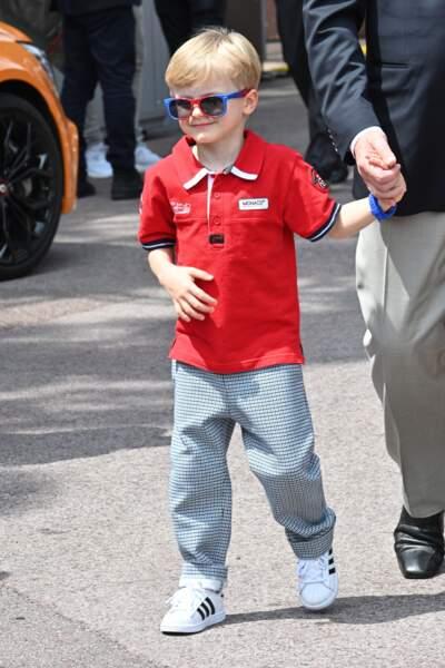 Le prince Jacques de Monaco au grand prix de Monaco, le 25 Mai 2019