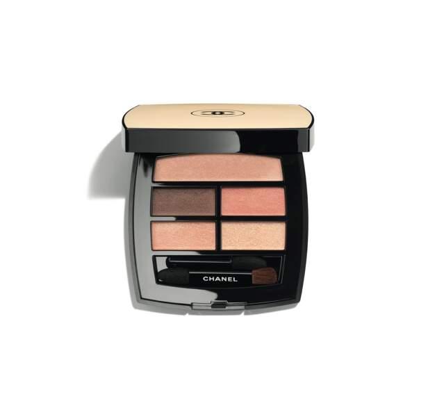 Palette Yeux, Healthy Glow Natural, Chanel, 58 €, en vente le 25 juin 2020.
