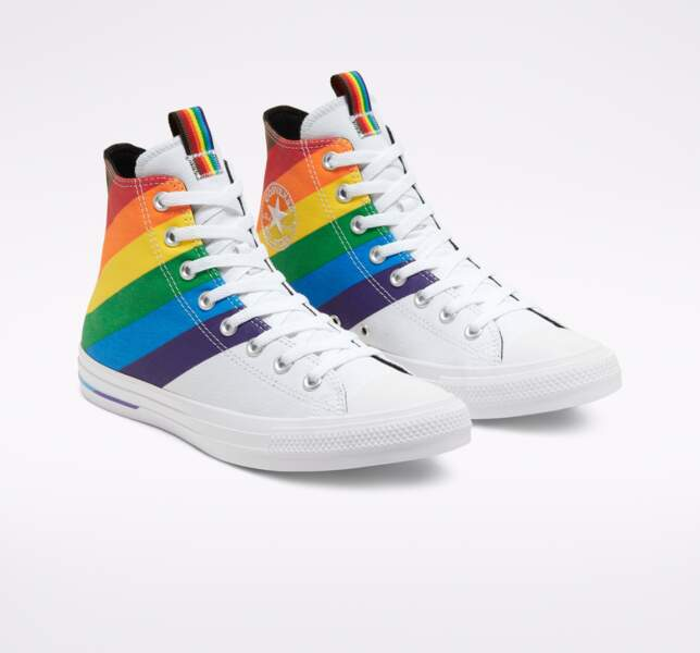 Basket Unisexe Pride Chuck Taylor All Star High Top, Converse, 75 €