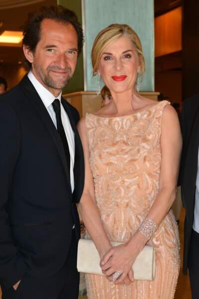 2015 : Stéphane de Groodt et Michèle Laroque au festival de Cannes.