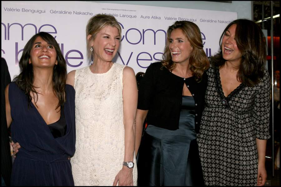2006 : Michèle Laroque à Cannes pour le film Comme t'y es belle