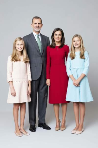 Ils sont les parents de deux filles, Leonor et Sofia.