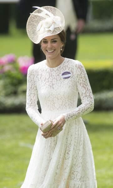 Kate Middleton le 15 juin 2016
