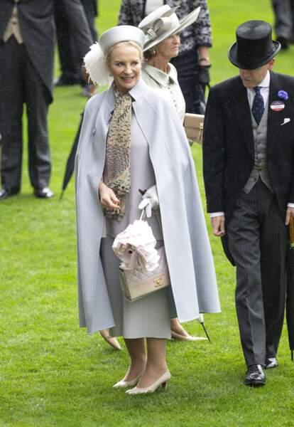 (Marie-Christine von Reibnitz, la princesse Michael de Kent  lors des courses d'Ascot 2019 le 19 juin 2019.