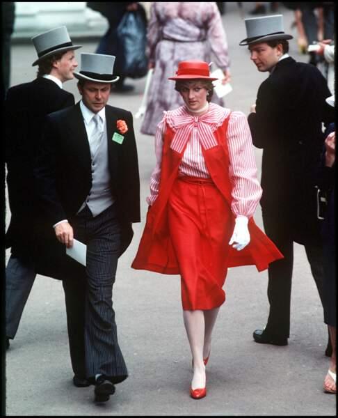 La princesse Diana superlookée à Ascot