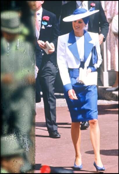 La princesse Diana à Ascot
