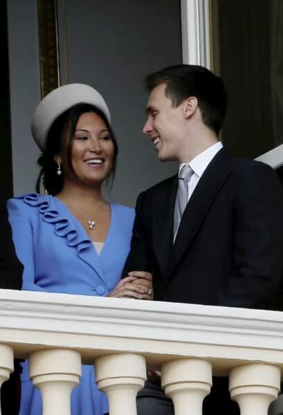 Marie Chevalier et Louis Ducruet se sont mariés les 26 et 27 juillet 2019.