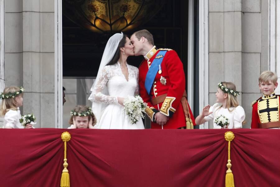 Kate Middleton et le prince William se sont dit oui le 29 avril 2011 à Londres.