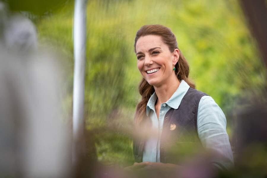 Kate Middleton à l'écoute des entrepreneurs