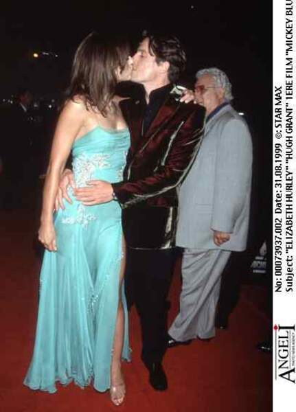 Après leur séparation, Hugh Grant deviendra même le parrain du fils de Liz Hurley, Damian.