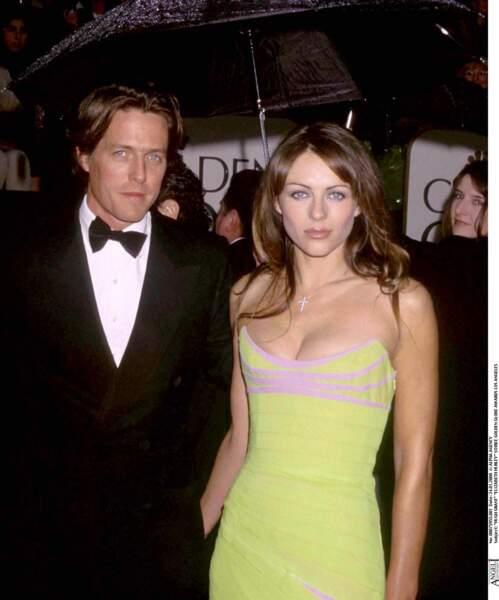 Elizabeth Hurley rencontre Hugh Grant en 1987. Leur relation durera 13 ans.