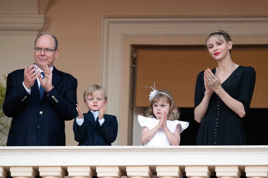 La famille princière de Monaco était présente pour la fête de la Saint-Jean, ce 23 juin 2020.