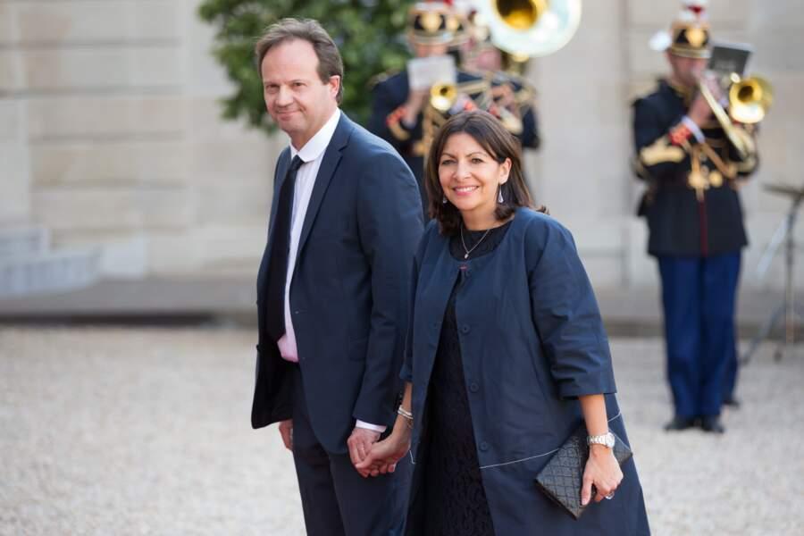 Anne Hidalgo et son mari Jean-Marc Germain
