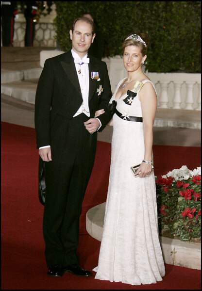 Sophie et Edward de Wessex, un couple amoureux et complice.