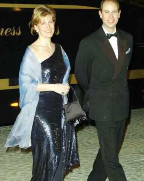 Sophie Rhys-Jones a épousé Edward, le fils cadet d'Elizabeth II, en 1999.