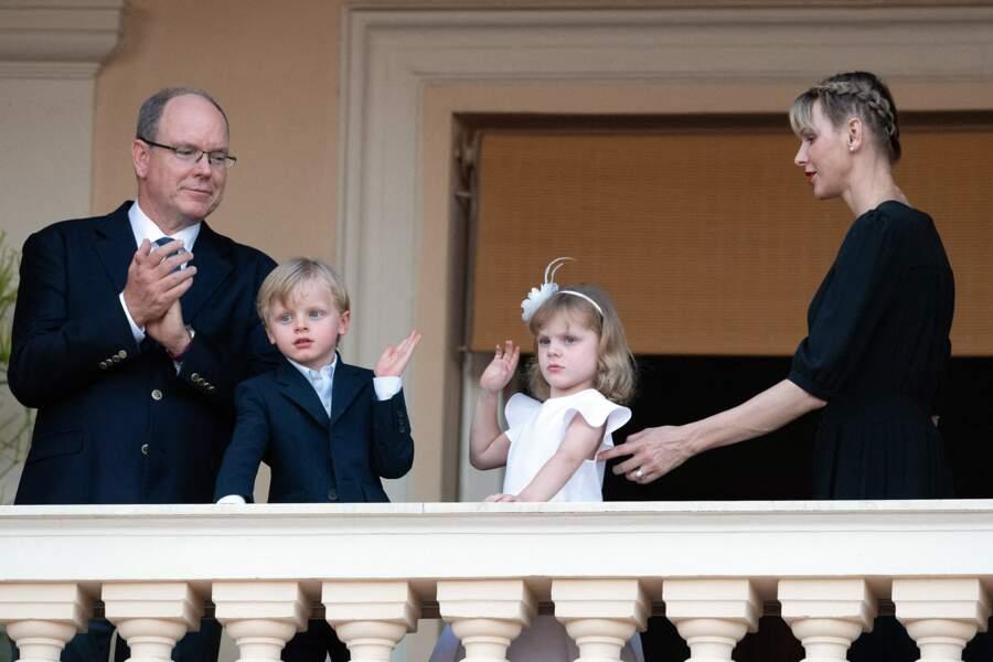 Gabriella et Jacques, âgés de cinq ans, maîtrisent déjà les codes de la principauté.