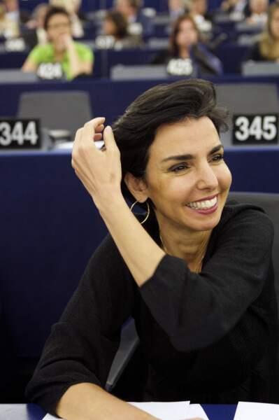 Rachida Dati quitte  le ministère de la Justice après avoir été élue députée au Parlement européen en juin 2009.