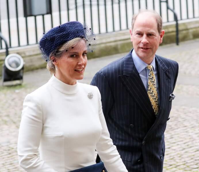 Sophie de Wessex et le prince Edward ont fêté leurs 21 ans de mariage.